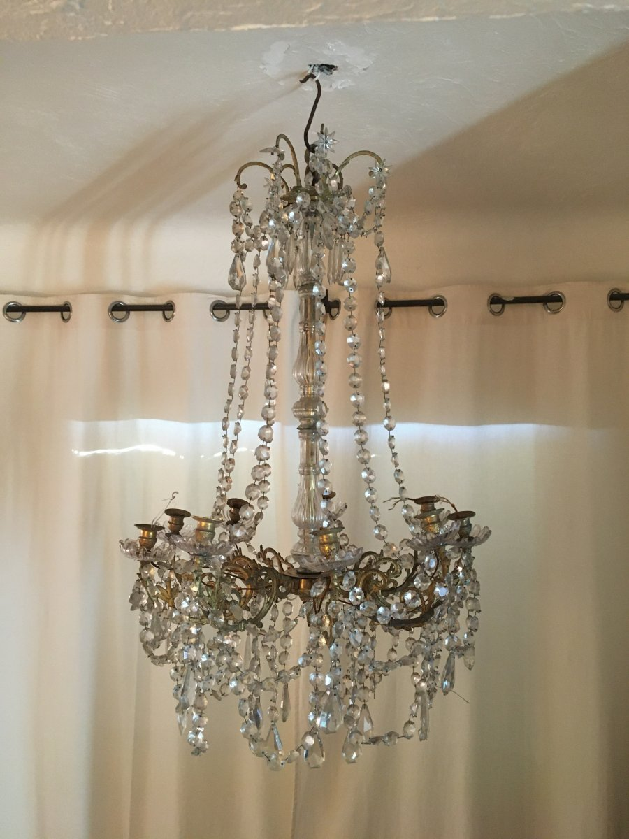 Cage Chandelier - XIX Th