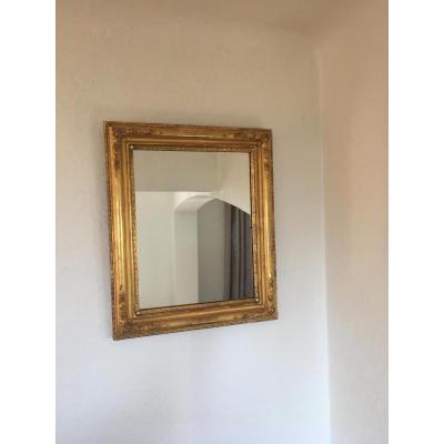 Mercury Mirror In Golden Wood XIX