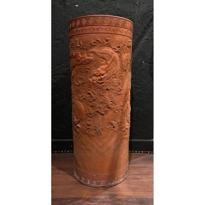 Vase Yixing - Grès - Chine - XIX ème