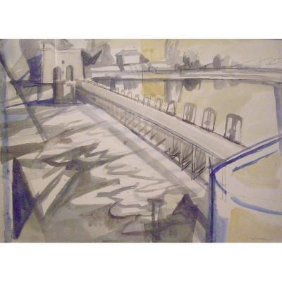 Jacques DESPIERRE - Le petit barrage, 1950-60