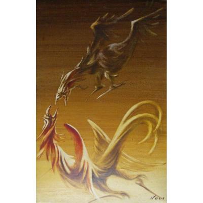 Rudolf HAUS - Oiseaux imaginaires, 1935