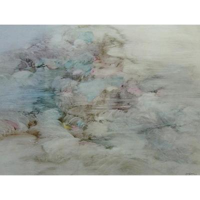 Pierre Graziani - Composition Abstraite, 1960