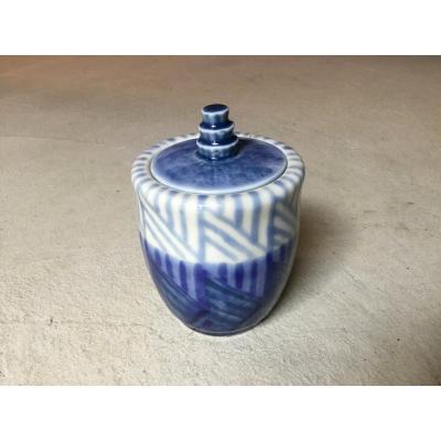 Art Deco Covered Pot