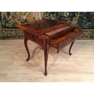 18th Century, Italian Louis XV Wood Centre Desk