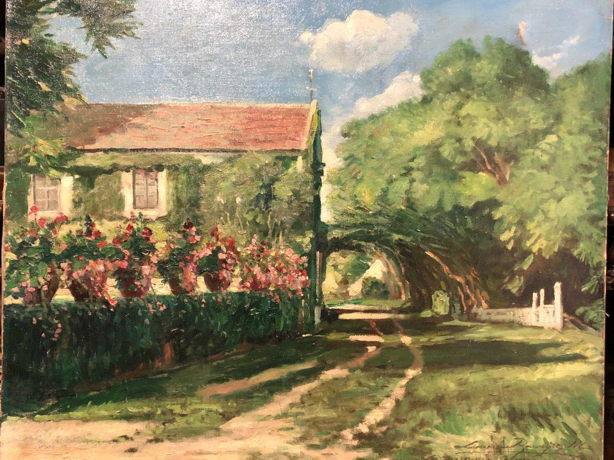 House At La Tonnelle By Louveau-rouveyre