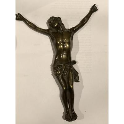 Christ En Bronze 18ème.
