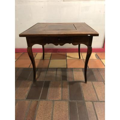 Louis XV Games Table In Gaïac.