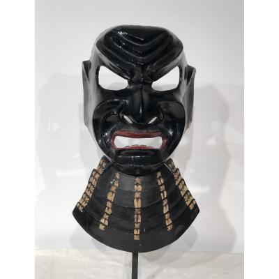 Masque De Samouraï Du Théâtre Du Nô?