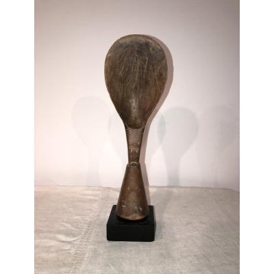 Kulango Pestle Spoon. Ivory Coast.