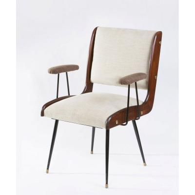 Pair Of Italian Design Armchairs 1960