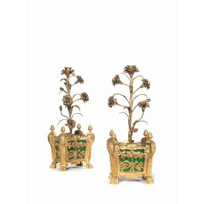 Pair De Candelabra, France 19th Century