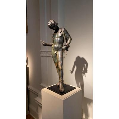 Bronze Statuette Of Narcissus