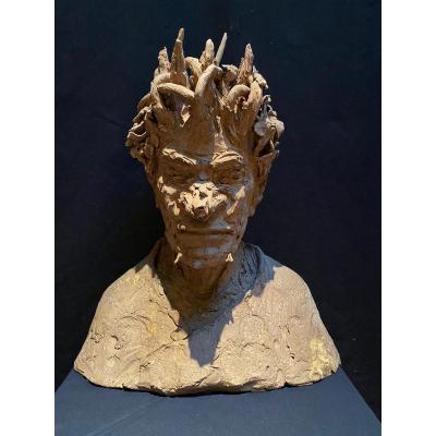 Sculpture En Terre Cuite, Vittorio Di Martino