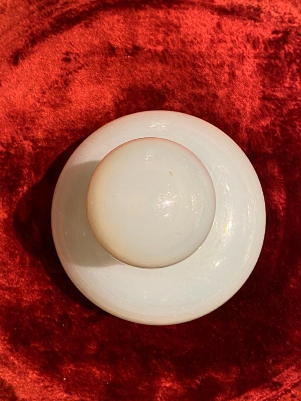 Important Flacon à Parfum En Opaline Savonneuse Ou Bulle De Savon XIXeme époque Charles X.-photo-4