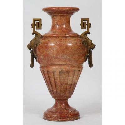 Vase En Marbre  Néo Classique