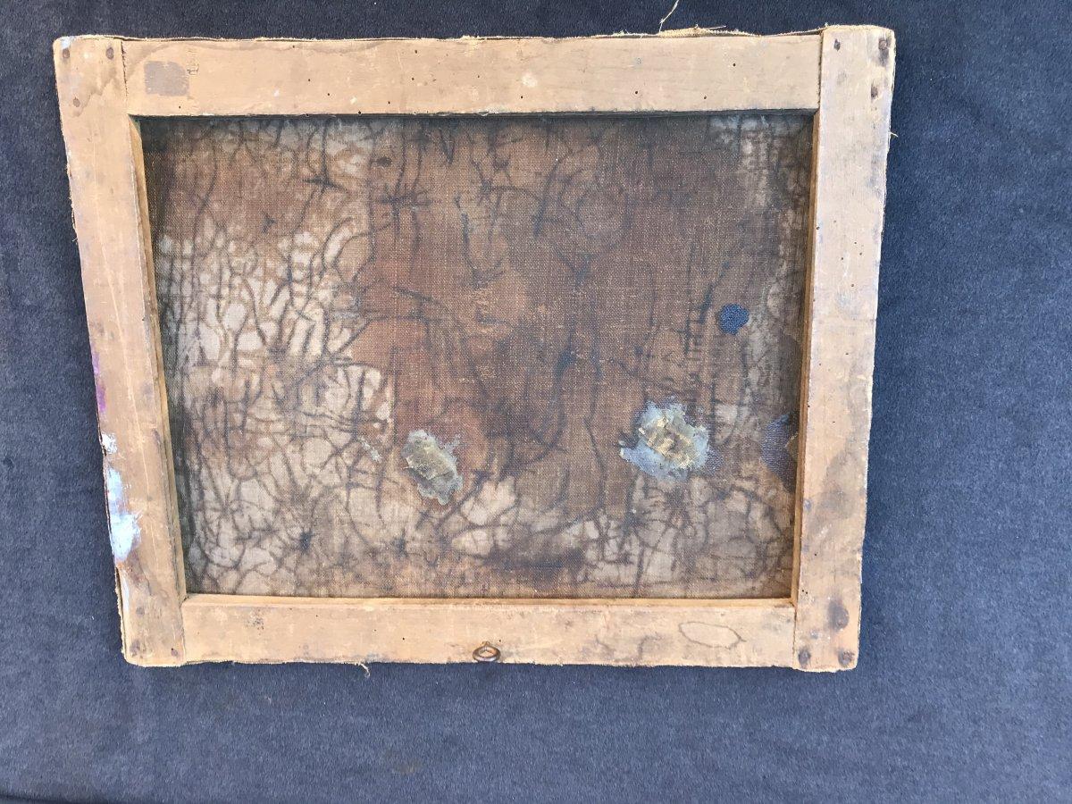 Mouillage Forain Et Debarquement Le Soir angleterre signé-photo-1