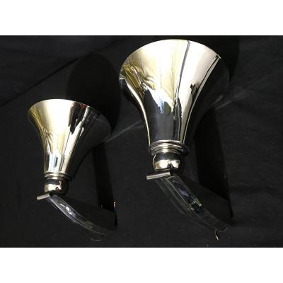 Pair Of Wall Sconces Design 1930