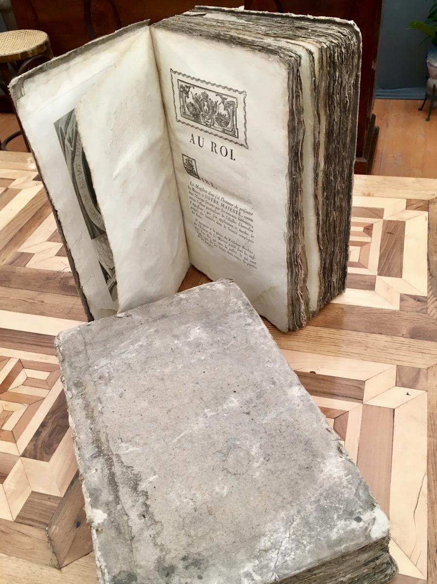 Livres Anciens De Jurisprudence de 1787, 2 Tomes