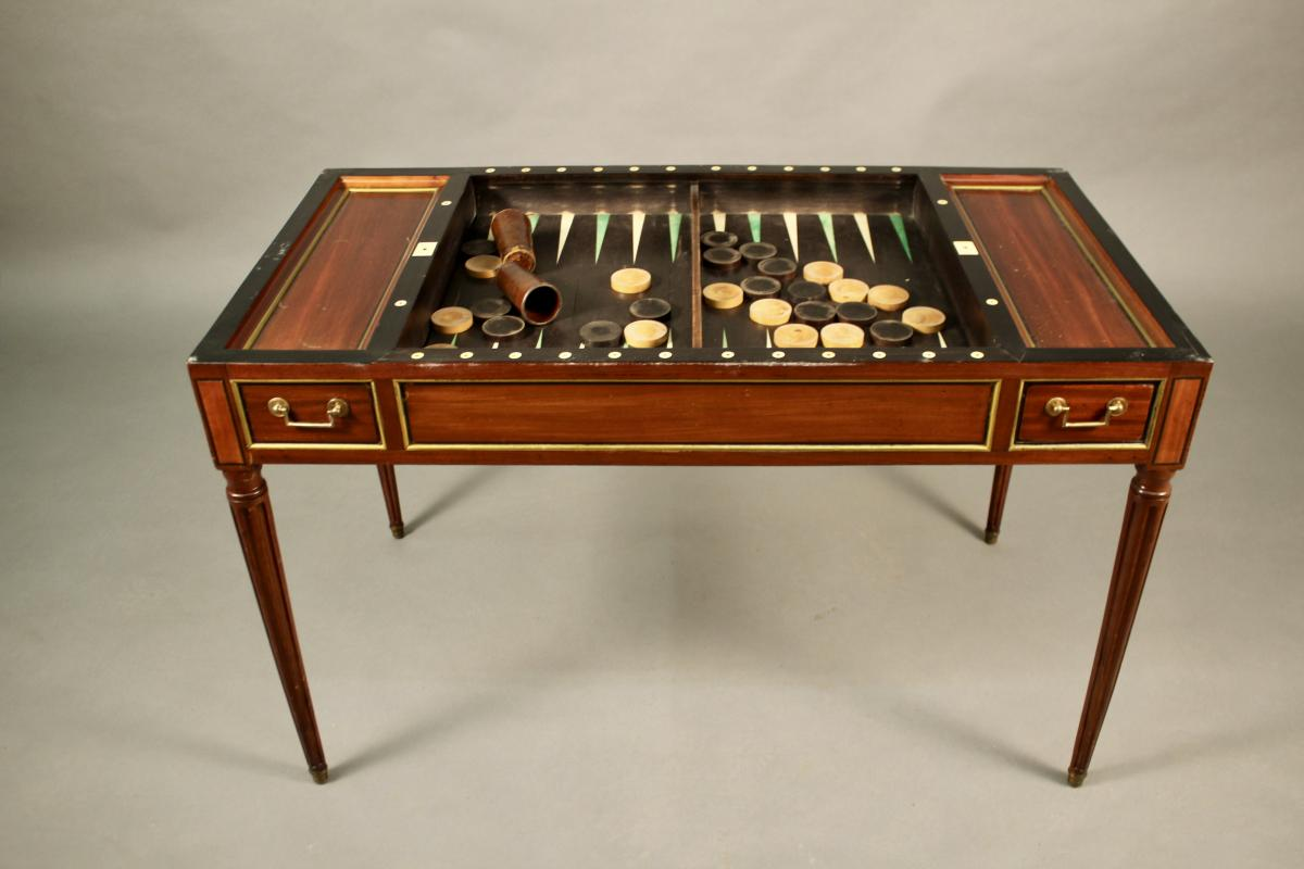 Table Tric Trac Directoire -photo-2