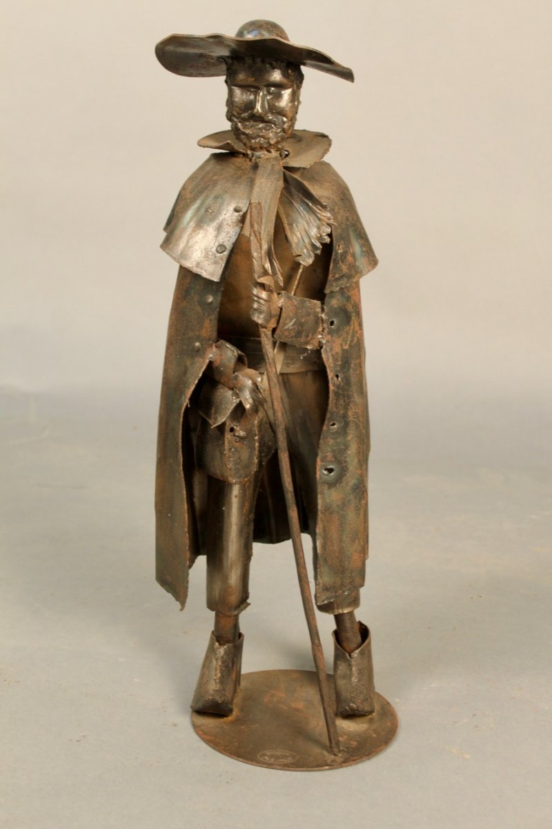 Statue Of Berger Signed Bocquin Rumilly