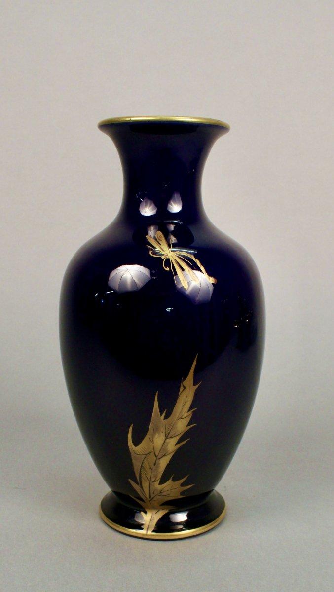 Vase à Décor De Chardons -photo-3