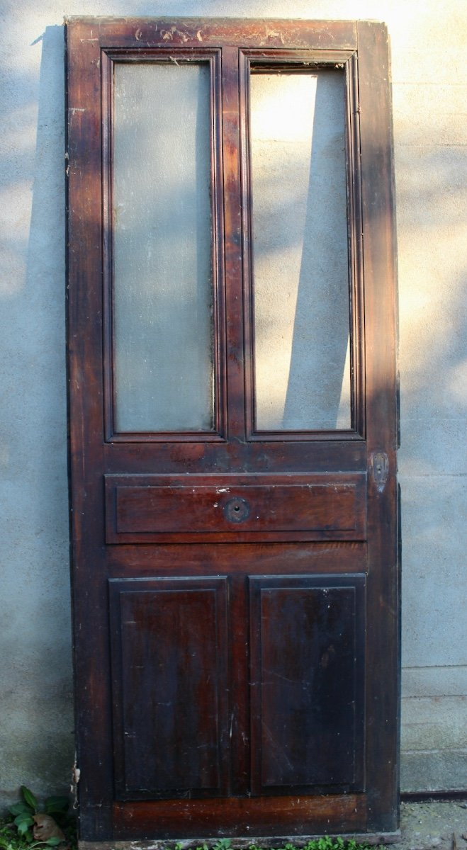 Entrance Door With Double Frame Opening Nineteenth