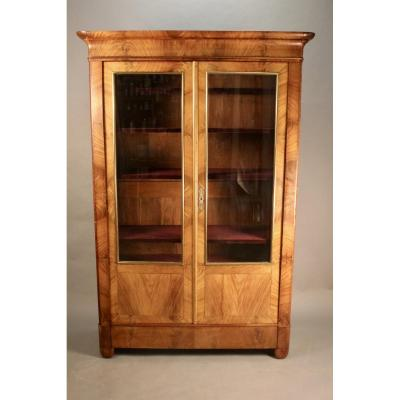 Showcase Cabinet Louis Philippe