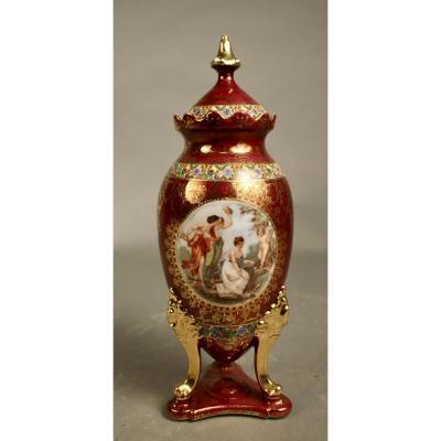 Vase Pied Tripode Porcelaine