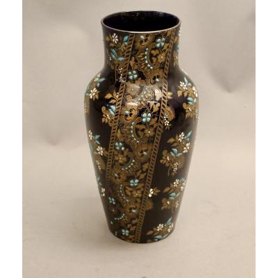 Gien Vase Height 45 Cm