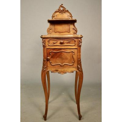 Chevet En Noyer De Style Louis XV XIXème
