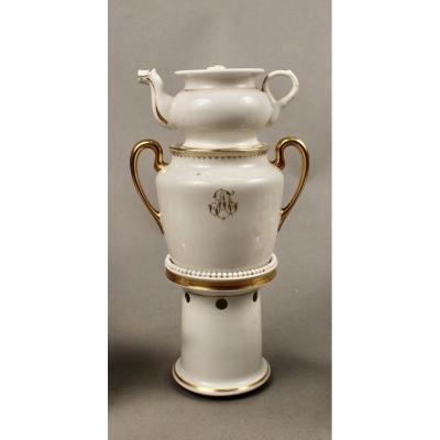 Tisanière En Porcelaine De Limoges
