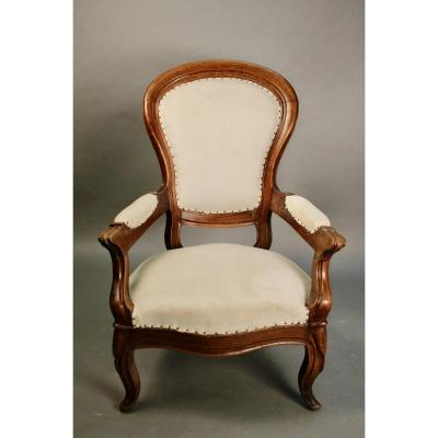 Louis Philippe Fireside Chair