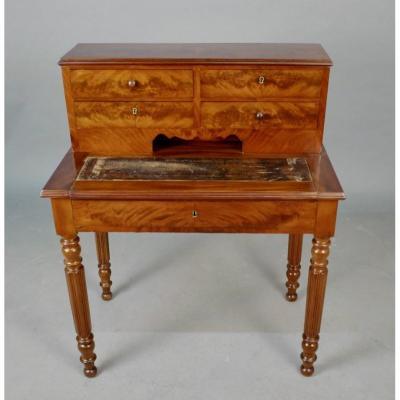 Louis Philippe Mahogany Desk