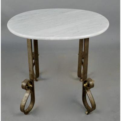 Art Deco Trolley Marble Top