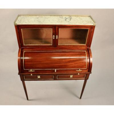 Louis XVI Mahogany Cylinder Desk Early Nineteenth