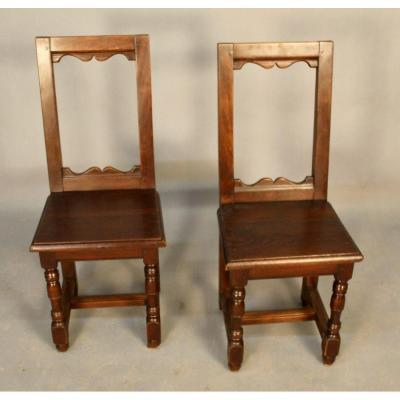 Pair Of Small Lorraine Chairs