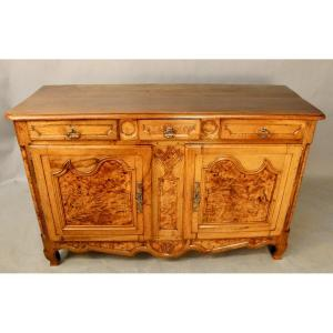 Bressan Sideboard In Pear And Ash Burl