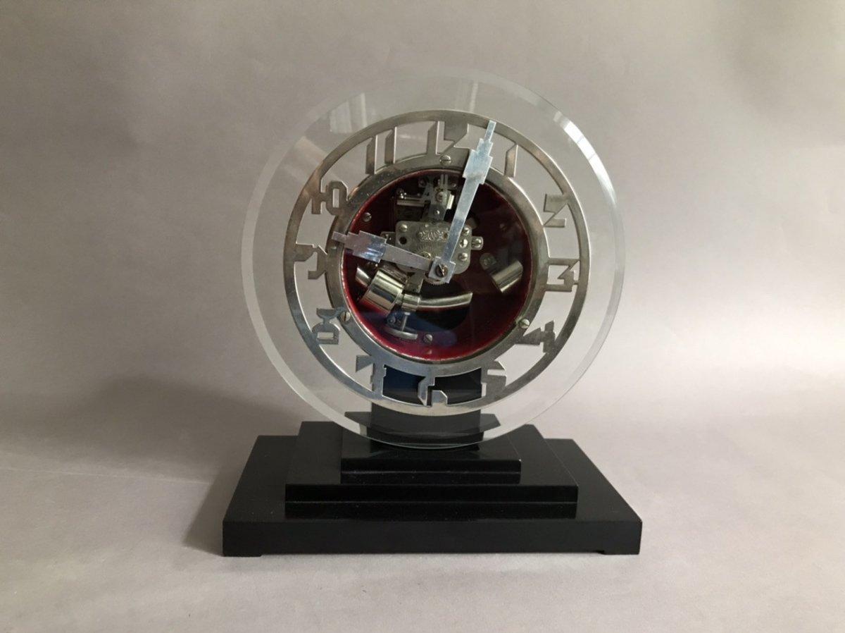 Ato Léon Hato Pendulum Clock Modernist Art Deco 1930