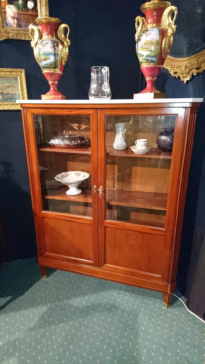 "Window Nineteenth Time. Style ""louis XVI"" Mahogany"