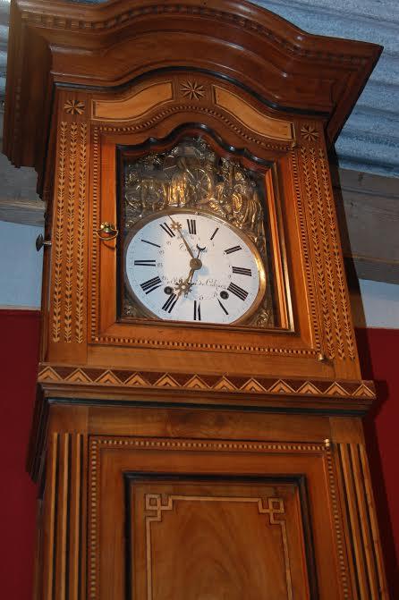 horloge de parquet saintongeaise 19 me si cle horloges de parquet. Black Bedroom Furniture Sets. Home Design Ideas