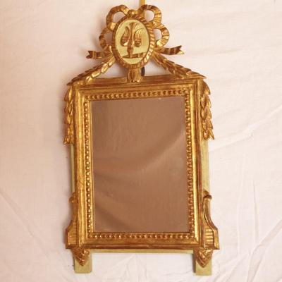 Miroir XIXème de style LOUIS XVI