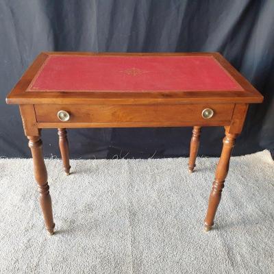 Table De Chambre Dit d'écriture époque XIXème , Cerisier Massif