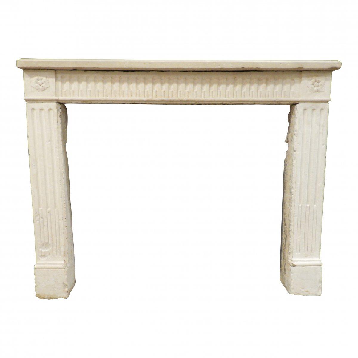 Louis XVI Parisian Fireplace