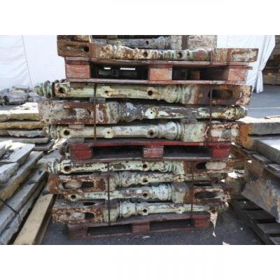 Antique Decorative Cast Iron Poles