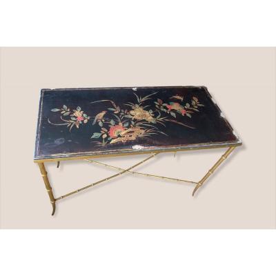 Table Basse d'Inspiration Exotique Style Maison BAGUÈS
