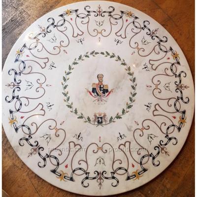 Scagliola - William II Of Hesse-cassel (1777-1847)