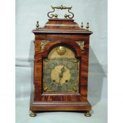 Antique Italian  XVIII Wooden Clock