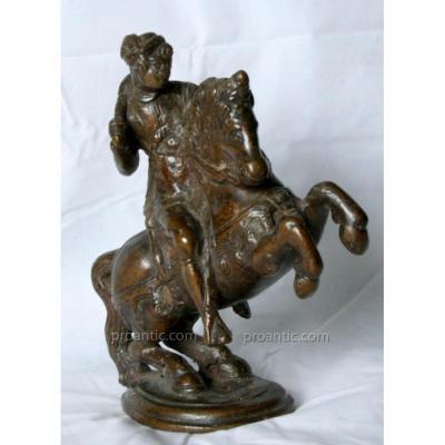 Rare Italian Bronze 'knight' Padou XVI Century