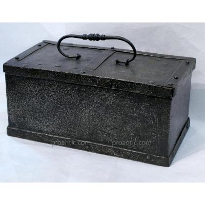 Rare Iron Box, Germany Sixteenth Century