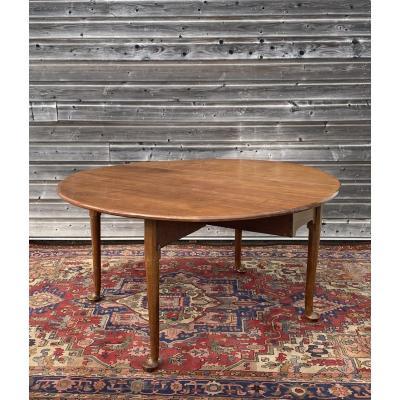 Table à Volets En Acajou XVIII Eme Siècle